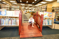 Young Boy in Lodi Public Library